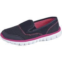 Schuhe Damen Slip on Dek  Marineblau