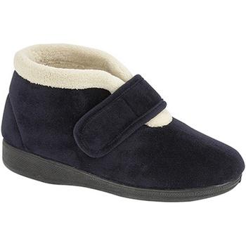 Schuhe Damen Hausschuhe Sleepers Amelia Marineblau