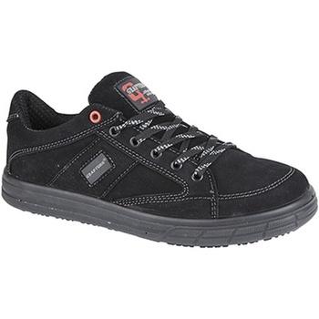 Schuhe Herren Sneaker Low Grafters  Schwarz