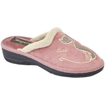 Schuhe Damen Hausschuhe Boulevard  Heather