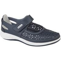 Schuhe Damen Derby-Schuhe Boulevard Wide Fit Marineblau