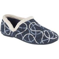 Schuhe Damen Hausschuhe Sleepers  Blau