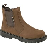 Schuhe Herren Boots Grafters  Braun