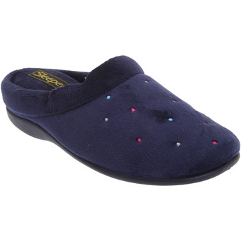 Schuhe Damen Hausschuhe Sleepers Charley Marineblau