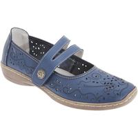 Schuhe Damen Derby-Schuhe & Richelieu Boulevard  Blau