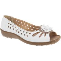 Schuhe Damen Ballerinas Boulevard  Weiß