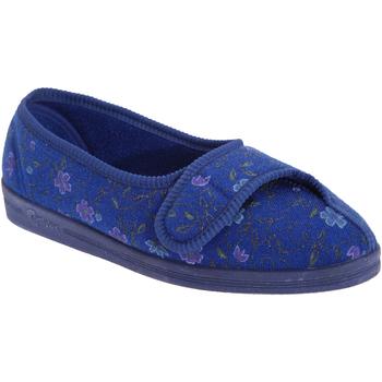 Schuhe Damen Hausschuhe Comfylux  Blau