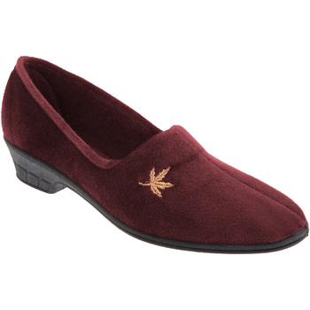 Schuhe Damen Hausschuhe Sleepers Andover Burgunder