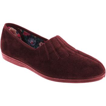 Schuhe Damen Hausschuhe Sleepers  Weinrot