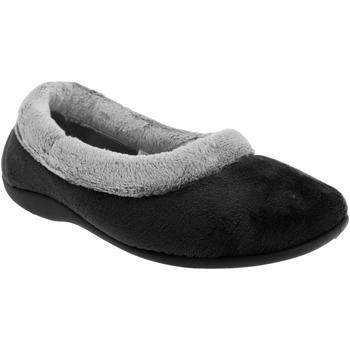 Schuhe Damen Hausschuhe Sleepers Julia Schwarz