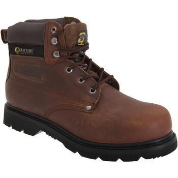 Schuhe Herren Sicherheitsschuh Grafters  Braun