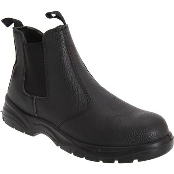 Schuhe Herren Boots Grafters  Schwarz