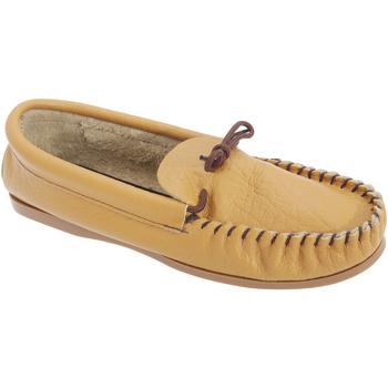 Schuhe Herren Hausschuhe Mokkers  Hellbraun