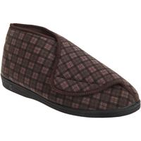 Schuhe Herren Hausschuhe Comfylux  Braun