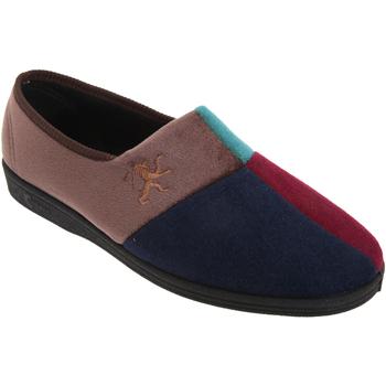 Schuhe Herren Hausschuhe Comfylux Harlequin Mehrfarbig