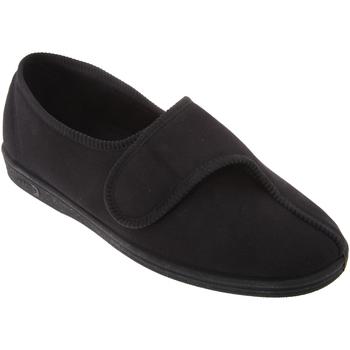 Schuhe Herren Hausschuhe Comfylux  Schwarz