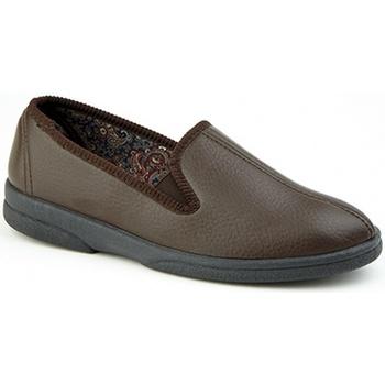 Schuhe Herren Hausschuhe Sleepers  Braun
