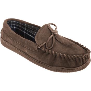 Schuhe Herren Slipper Sleepers  Braun