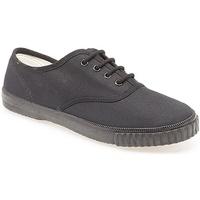 Schuhe Jungen Tennisschuhe Dek  Schwarz