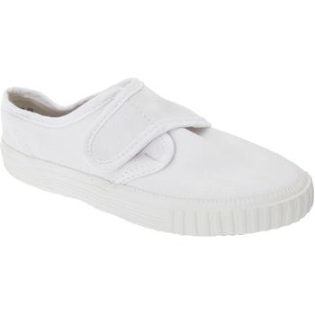Schuhe Jungen Tennisschuhe Dek  Weiß