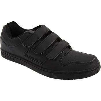 Schuhe Herren Sneaker Low Dek Charing Cross Schwarz