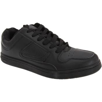 Schuhe Herren Sneaker Low Dek Euston Schwarz
