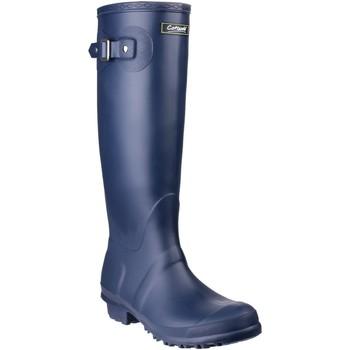 Schuhe Damen Gummistiefel Cotswold Sandringham Marineblau