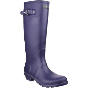 Schuhe Damen Gummistiefel Cotswold Sandringham Lila