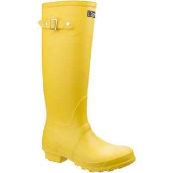 Schuhe Damen Gummistiefel Cotswold Sandringham Gelb
