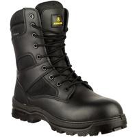 Schuhe Herren Boots Amblers COMBAT WP Schwarz