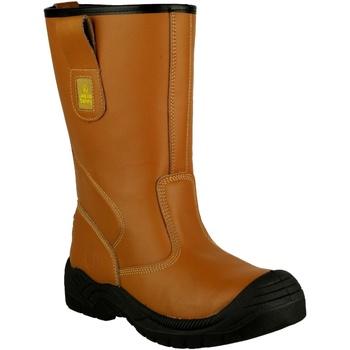 Schuhe Herren Sicherheitsschuh Amblers 142 S3 Braun