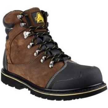 Schuhe Herren Boots Amblers 227 S3 WP Braun