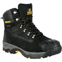 Schuhe Herren Sicherheitsschuh Amblers 987 S3 WP Schwarz