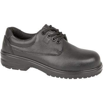Schuhe Damen Derby-Schuhe Amblers 121C S1P Schwarz