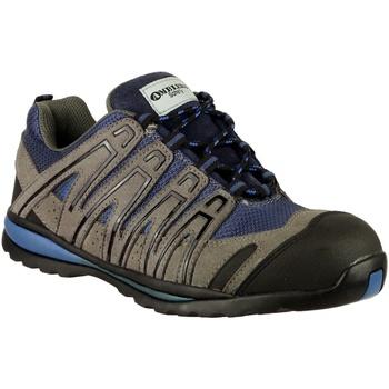 Schuhe Herren Wanderschuhe Amblers 34C S1P HRO Blau
