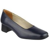 Schuhe Damen Pumps Amblers WALFORD (BLACK/NAVY) Marineblau