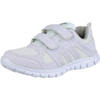 Schuhe Damen Sneaker Low Mirak MILOS VELCRO ADULTS Weiß
