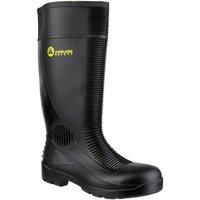 Schuhe Herren Sicherheitsschuh Amblers FS100 Safety Black Wellingtons Schwarz