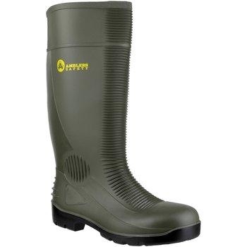 Schuhe Herren Sicherheitsschuh Amblers FS99 Safety Green Wellingtons Grün
