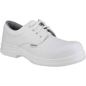 Schuhe Herren Derby-Schuhe Amblers FS511 White Safety Shoes Weiß