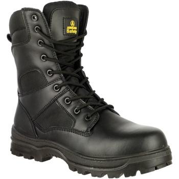 Schuhe Herren Sicherheitsschuh Amblers FS008 Safety Boots (Euro Sizing) Schwarz
