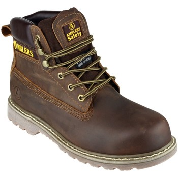 Schuhe Herren Sicherheitsschuh Amblers FS164 Safety Boots Braun
