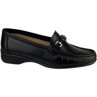 Schuhe Damen Slipper Cotswold Barrington Schwarz