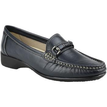 Schuhe Damen Slipper Cotswold Barrington Marineblau