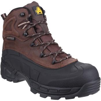 Schuhe Herren Sicherheitsschuh Amblers  Braun