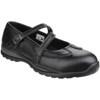 Schuhe Damen Stiefel Amblers  Schwarz