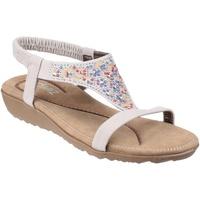 Schuhe Damen Sandalen / Sandaletten Divaz  Weiß