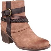 Schuhe Damen Low Boots Divaz Vado Hellbraun