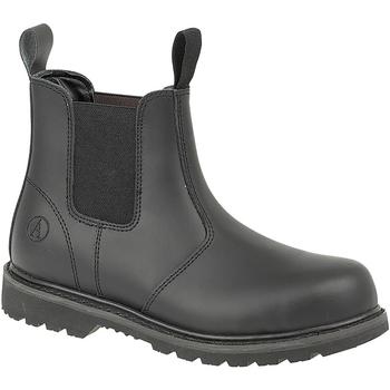 Schuhe Sicherheitsschuh Amblers FS5 Schwarz