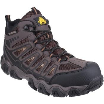 Schuhe Herren Wanderschuhe Amblers Rockingham Braun